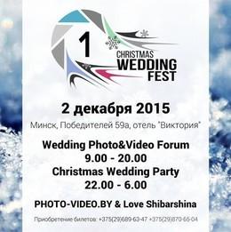 Christmas Wedding Fest 2015