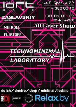 Techno minimal laboratory