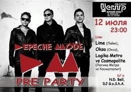 Depeche Mode pre-party