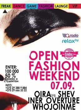 Open Fashion Weekend