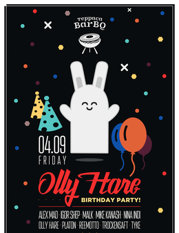 Olly Hare Birthday party
