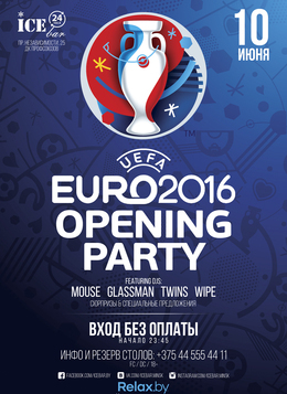 Euro-2016 Opening Party