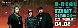 Energy Session: Xzibit, B-Real, Demrick (Serial Killers)