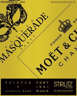 Golden Masquerade Party