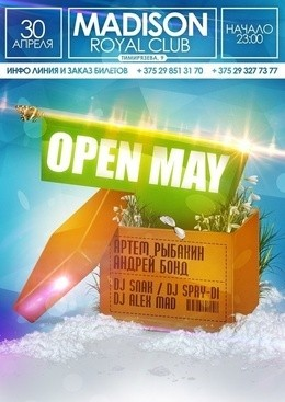 Open May