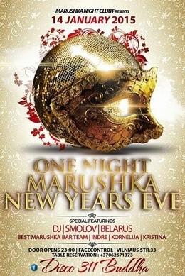 One night Marushka New Years Eve