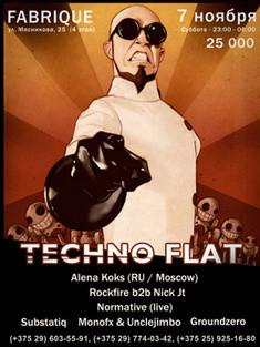 Techno Flat!