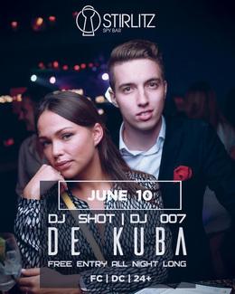 De Kuba, DJ Shot, DJ 007