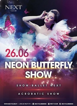 Neon Butterfly Show
