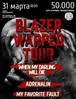 Blazer warped tour