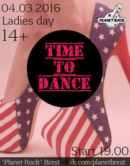 Time to dance. Ladies day