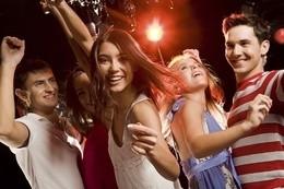Ночная дискотека в клубе «Европа»