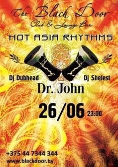 HOT ASIA RHYTHMS with DR.JOHN