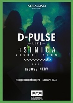 D-Pulse, Live + Sinica Visual Show