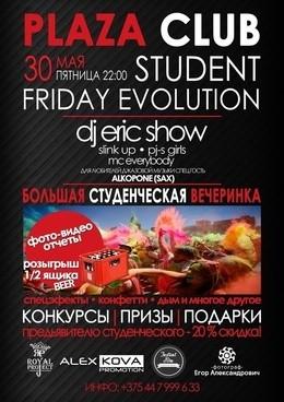 Student Friday Evolution