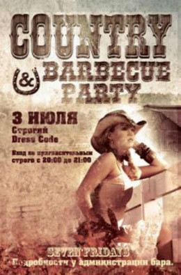 Country & barbecue party