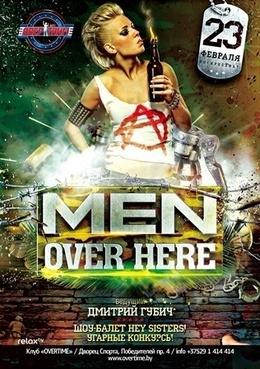 Men over here