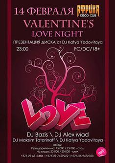 Valentine's love night
