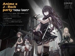 Anime x J - Rock party - New Born