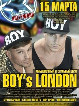 BOYs LONDON