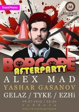 Afterparty Borgore