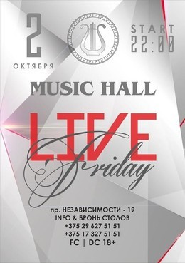 Live Friday