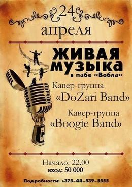 Концерт групп DoZari Band и Буги Бенд