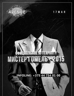 Afterperty конкурса «Мистер Гомель 2015»