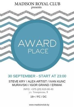 AwardPlace