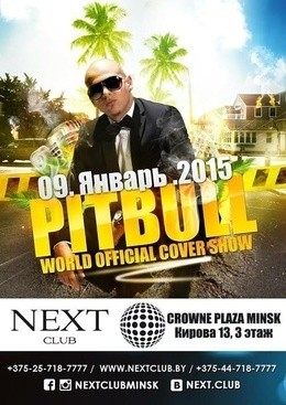 PITBULL world official cover show