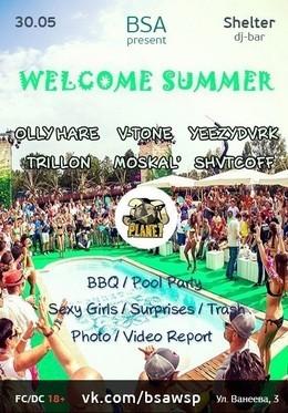 B.S.A Welcome Summer