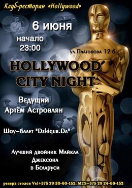 Hollywood City Night