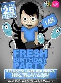 Fresh Birthday Party