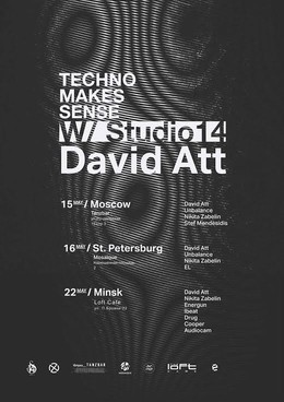 Techno Makes Sense: David Att (ESP), Nikita Zabelin (RUS)