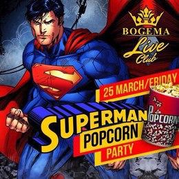 Superman popcorn party