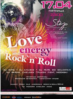 Love, Energy, Rock-n-Roll