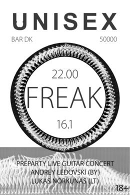 Unisex Freak