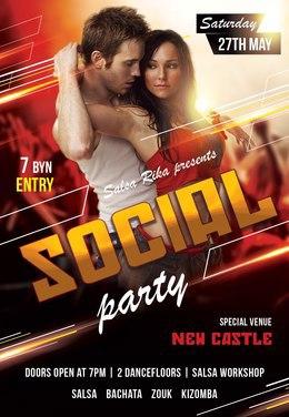 Social Dance Party