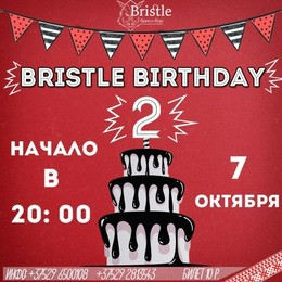 Bristle Birthday
