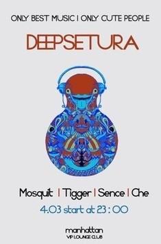 Deepseture in VIP lounge club Manhattan