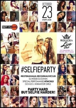#selfieparty
