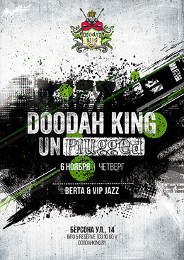 Doodah King Unplugged
