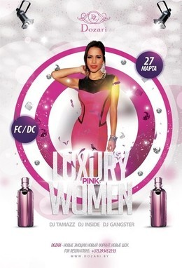 Luxury Pink Women