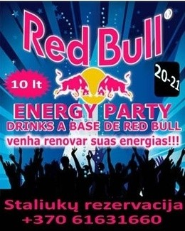 Red Bull Energy Party