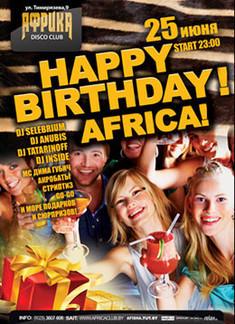 Happy Birthday, Afrika!