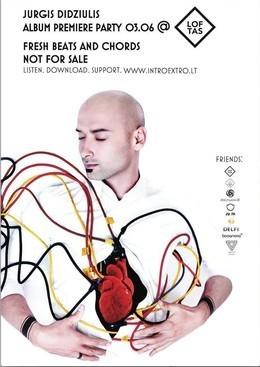 Презентация альбома «Intro / Extro» Jurgis Didziulis
