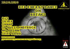 Red energy dance