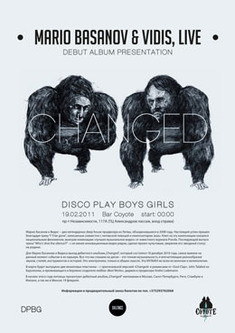 Mario Basanov & Vidis, Live (Silence Music, LT)  + DISCO PLAY BOYS GIRLS.
