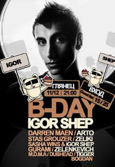 Igor Shep Birthday