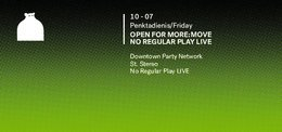 Open for More: Move | No Regular Play LIVE